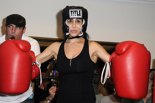 Nadya Suleman visited by social services