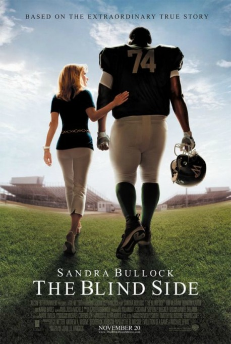 Sandra Bullock 'The Blind Side' movie poster