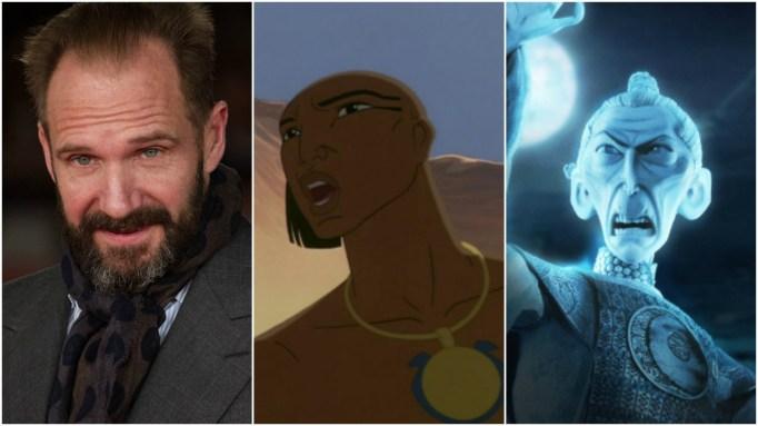 Animated Villains: Ralph Fiennes