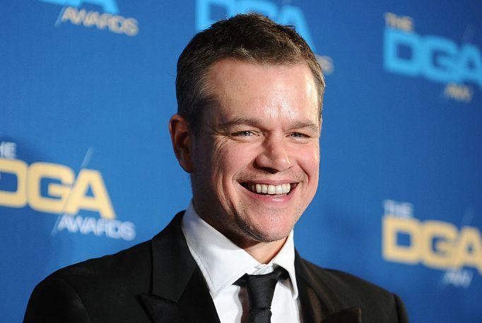 Matt Damon red carpet