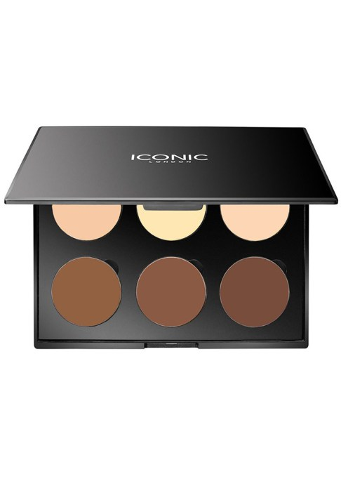 Contour Palettes For Almost Every Skin Tone: Iconic London Multi Use Cream Contour Palette   Summer Makeup 2017
