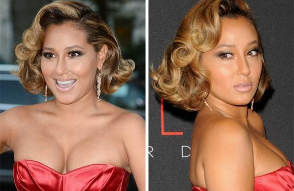 Celeb Hairstyle of the Week: Adrienne