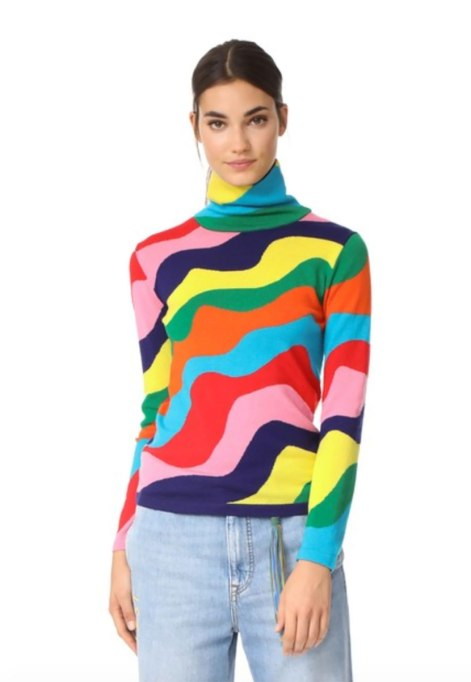 Ways To Wear A Turtleneck | Mira Mikati turtleneck at Shopbop