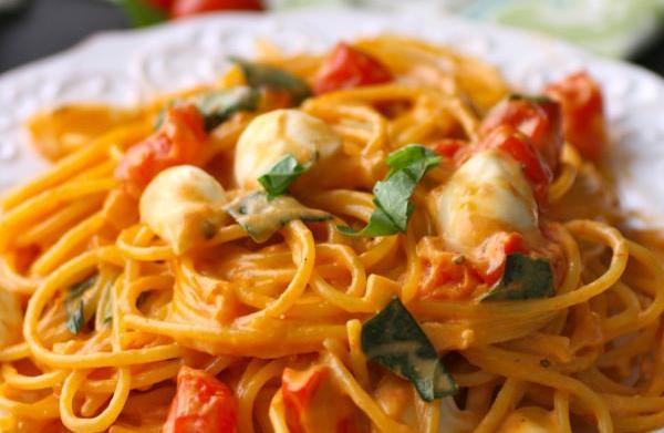Meatless Monday: Creamy caprese spaghetti