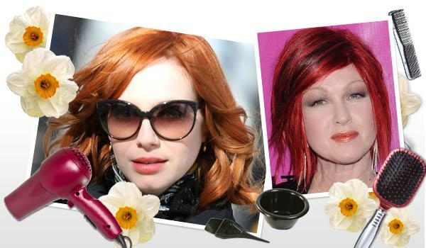 Vibrant hair color: How to pull