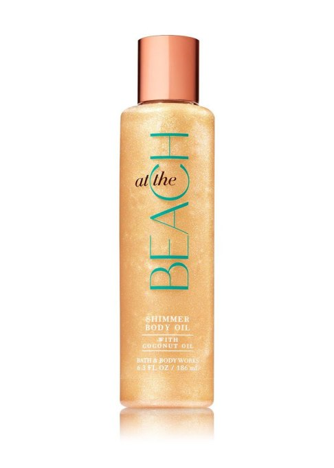 Bath and Body Works At the Beach Shimmer Body Oil