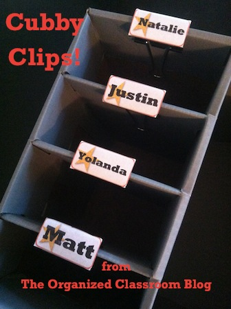 cubby clips