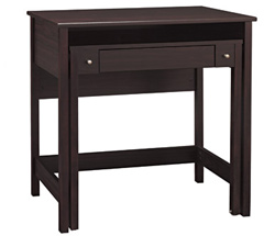 Brush Brandywine pullout desk (OfficeMax, $169.99)