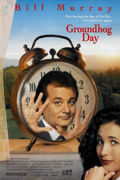 Movies turning 25 this year: Groundhog Day