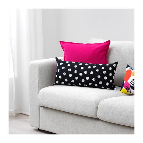 black & white Skäggört Ikea cushions
