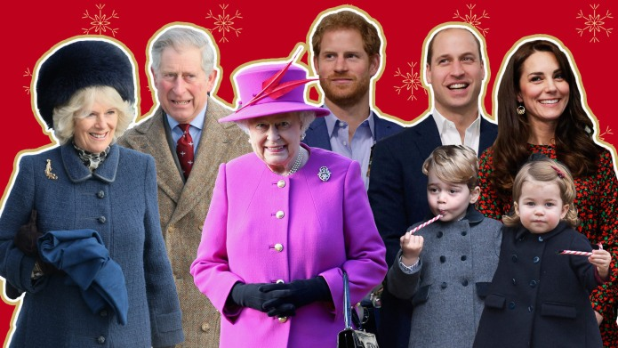 How the Royal Family Celebrates the