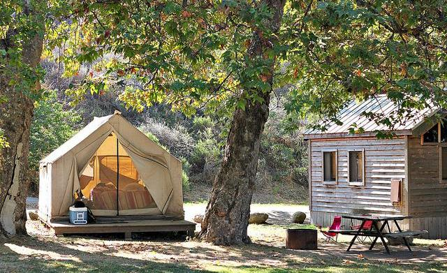 Glamping in California