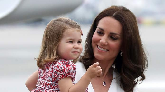 Kate Middleton's Snaps of Charlotte's First