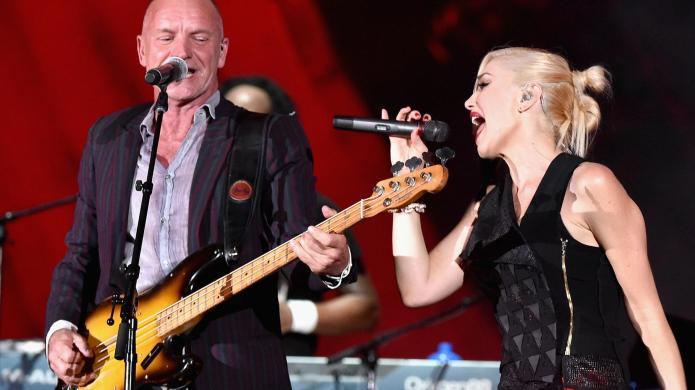 Sting and No Doubt performed together