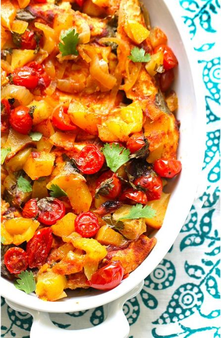One-pot summer meals | Mango salsa slow cooker chicken