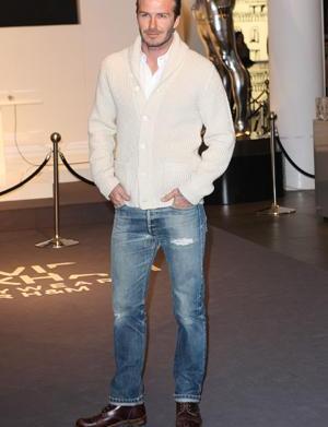 David Beckham cast in bronze?