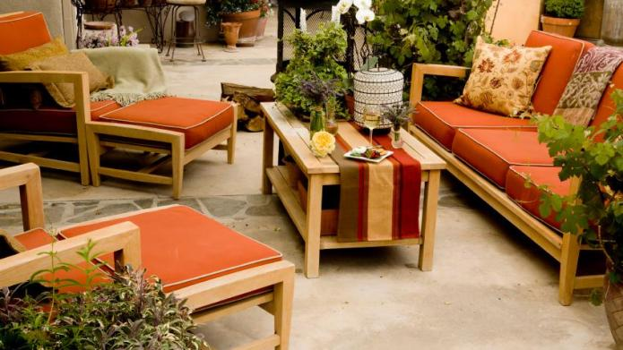 Have a seat and relax: Patio
