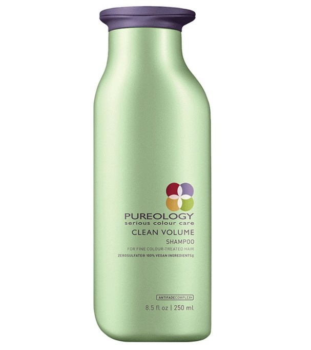 Best products for every hair type: Pureology Clean Volume Shampoo | Hair care products 2017