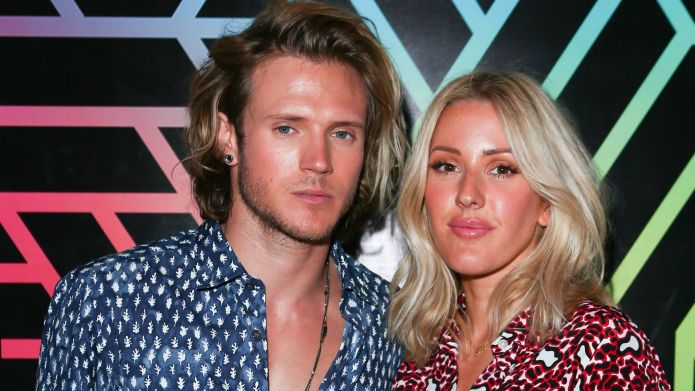 Dougie Poynter and Ellie Goulding's holiday