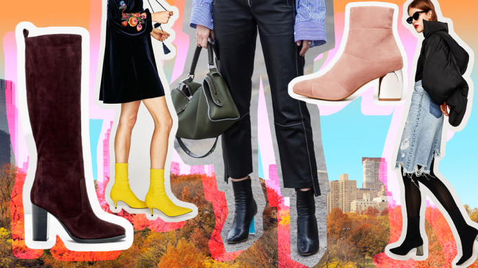 25 Pairs of Fall Boots to