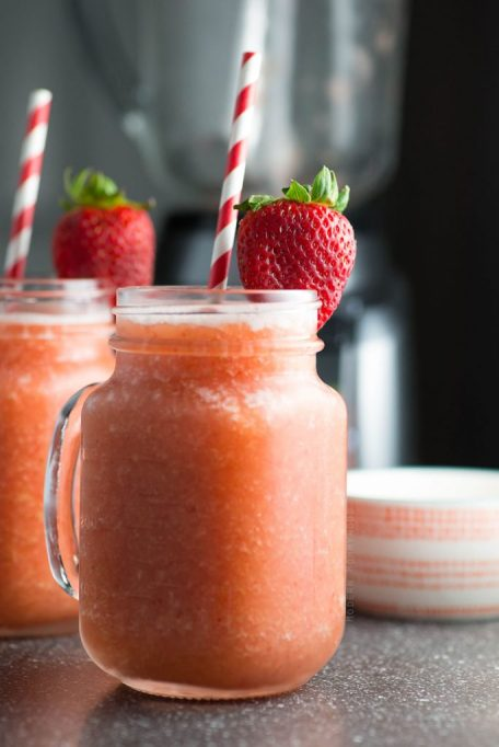 Summer fruit wine slush from Modernly Morgan