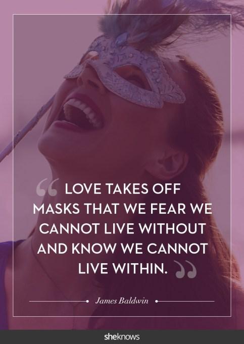 James Baldwin love quote