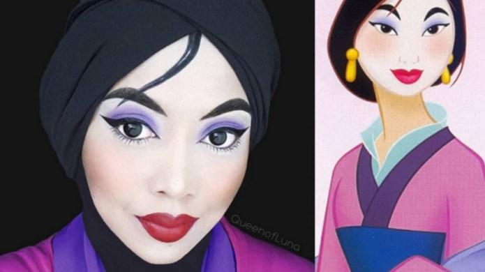 Makeup guru creates the most beautiful