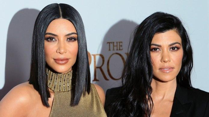 Kim Kardashian West & Kourtney Kardashian