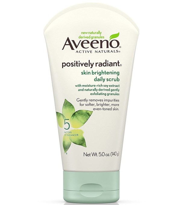 Alternatives To Retinoids | Aveeno Positively Radiant Brightening Daily Scrub