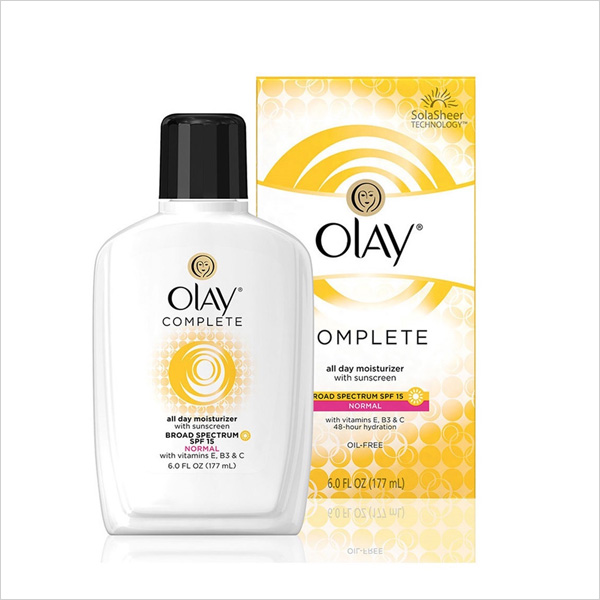 Olay Complete All Day Moisturizer SPF 15 for Sensitive Skin