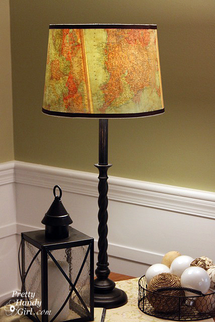 old-maps-lampshade