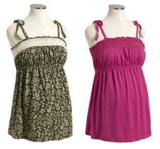 old navy maternity tanks for summer fashion