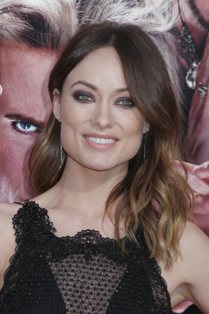 Olivia Wilde at a premiere