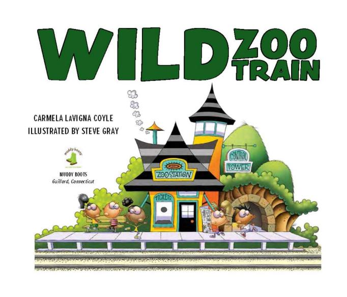 13 Children's Books for National Read A Book Day: Wild Zoo Train