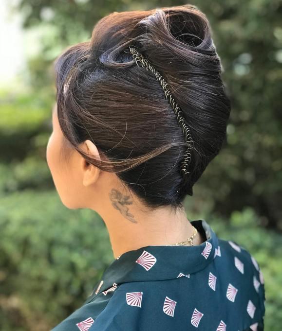 Jeannie Mai Hairstyle