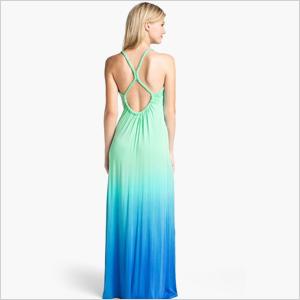Ombre sunner naxue dress
