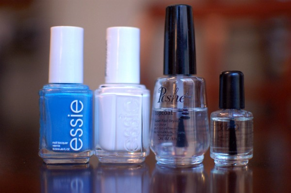 Ombre manicure - nail polish