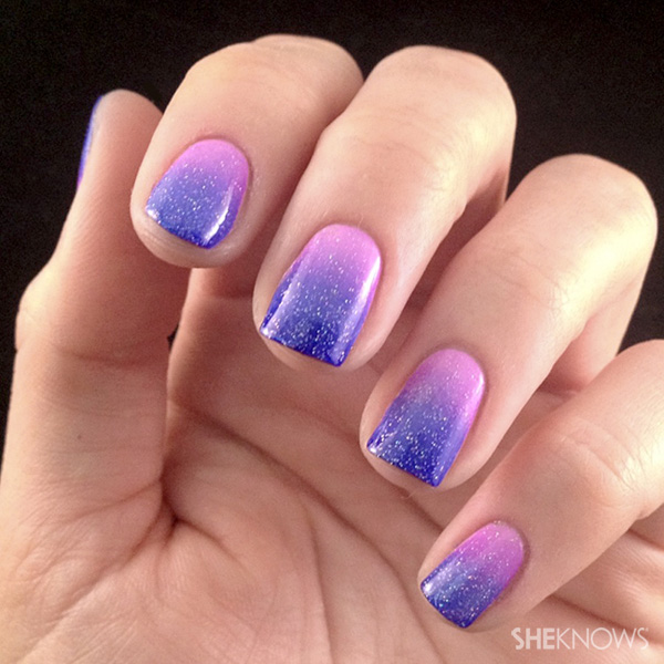 Lacquered love: Ombre nail art – SheKnows