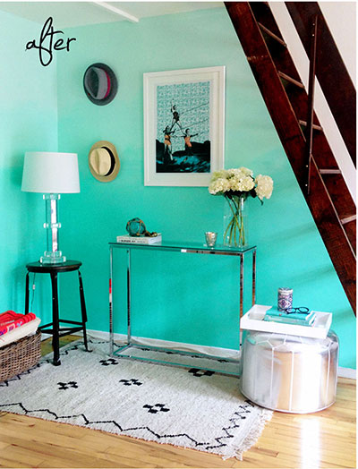 Ombre inspired room