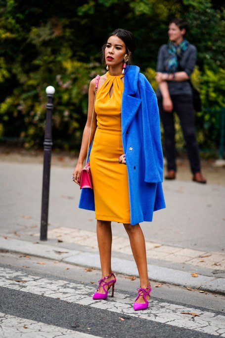 Perfect Fashion Combos | Primary Color + Another Primary Color