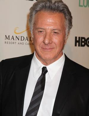 Dustin Hoffman helps a collapsed jogger