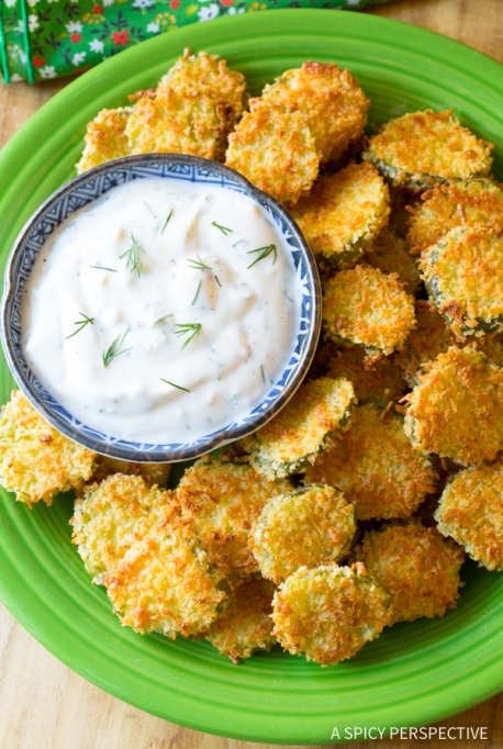 Oven Baked Fried Pickles