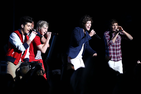 One Direction talks about their bulges