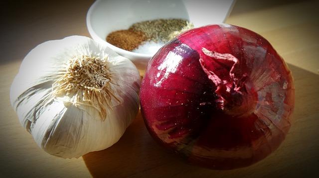 Garlic and onions
