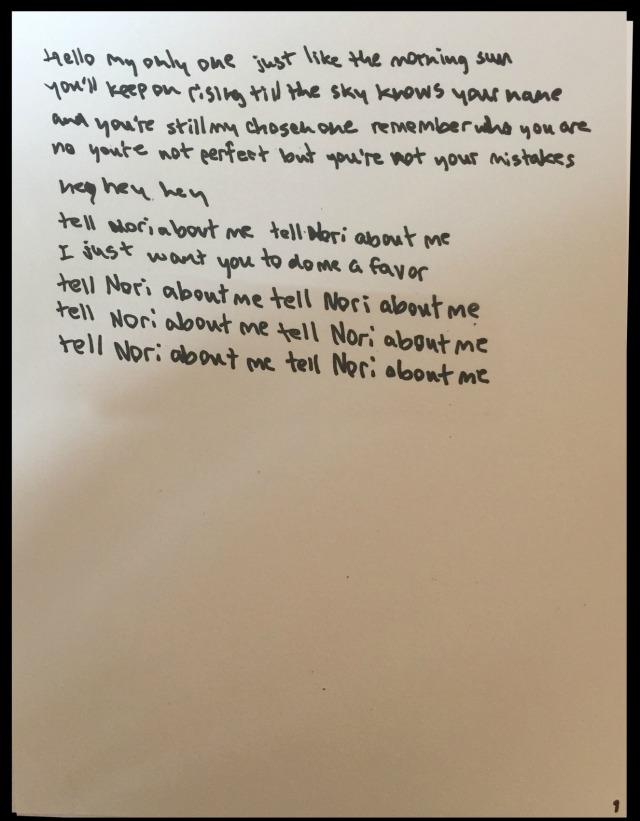 Kanye West Only One lyrics