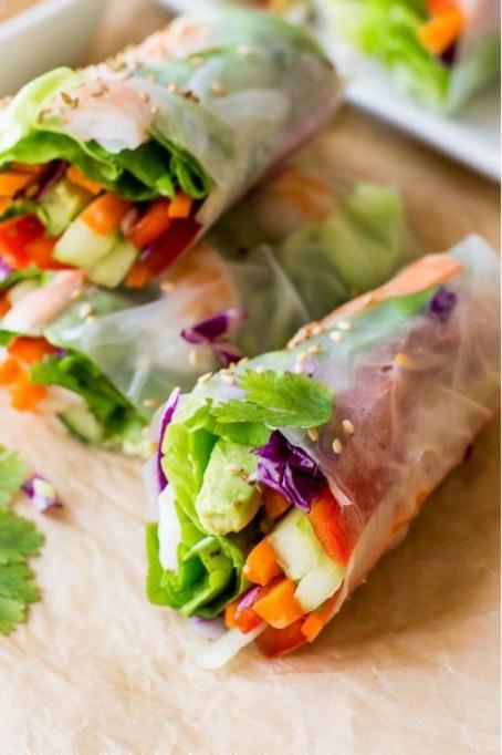 Avocado recipes that don't involve toast: fresh summer rolls with avocado