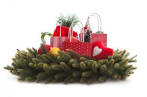 DIY Christmas centerpiece in minutes