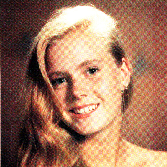 Amy Adams Yearbook Photo