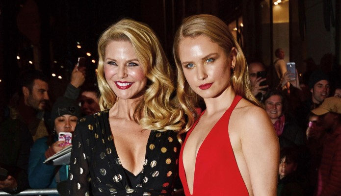Christie Brinkley Surprises Daughter Sailor With