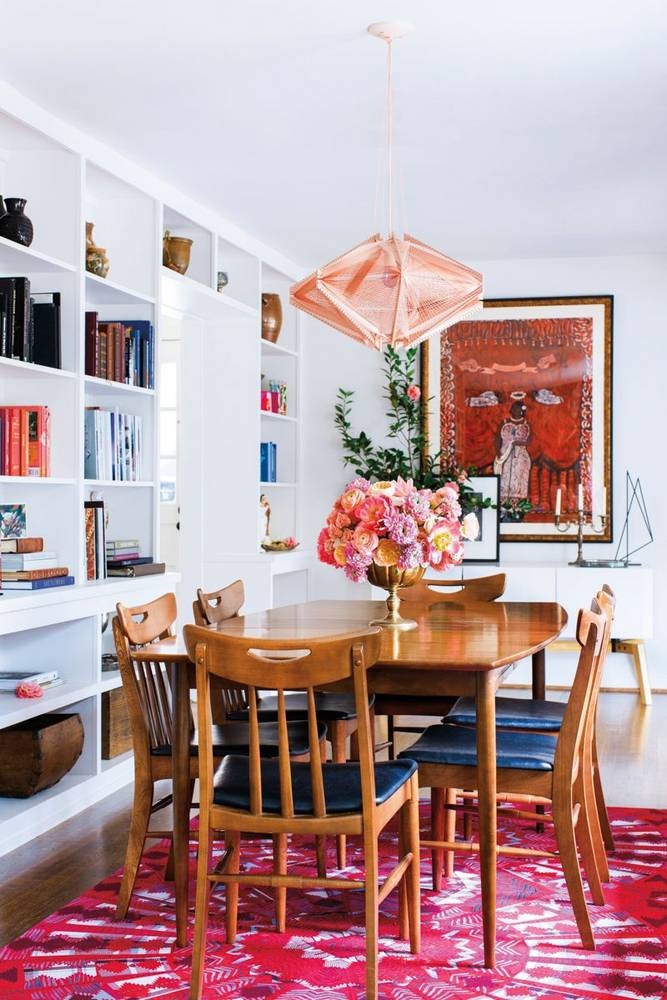 The Best Small Spaces of 2017: Open Shelving Dining Room | Home Decor